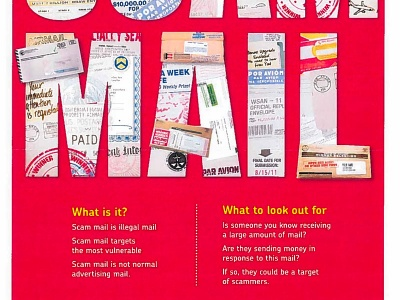 Woolhampton Parish Council Supports Royal Mail Scam Mail Campaign