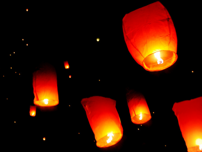 Woolhampton Parish Council Bans Sky Lanterns